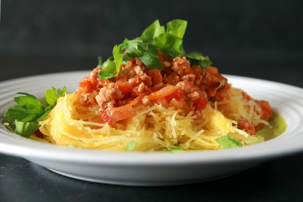 Spaghettipompoen bolognese alternatief koolhydratenlr